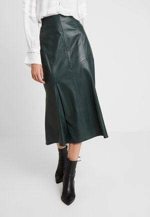 MIDI PENCIL SKIRT - A-linjainen hame - iris leaf