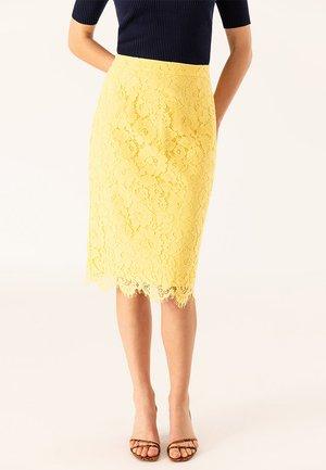 Falda de tubo - sunshine yellow