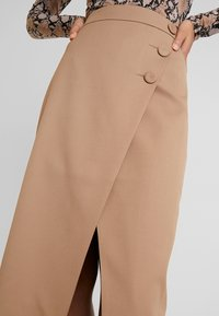 IVY & OAK - PENCIL SKIRT - Jupe crayon - dark toffee - 3