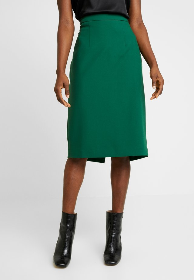 PENCIL SKIRT - Pencil skirt - eden green