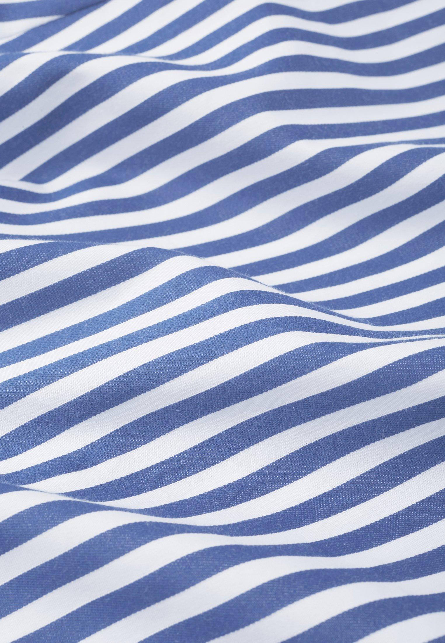 IVY & OAK STRIPED SKIRTANCLE LENGTH - Gonna lunga - blue