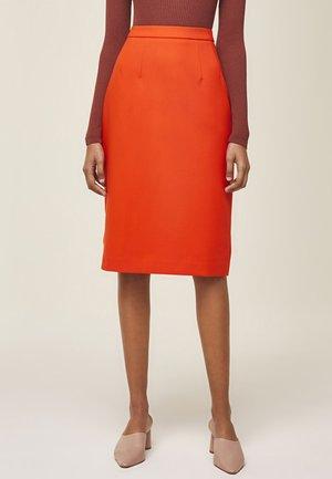Spódnica ołówkowa  - orange