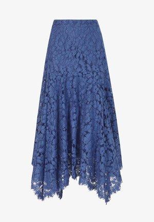Spódnica trapezowa - blue bell
