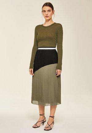 A-snit nederdel/ A-formede nederdele - sage green