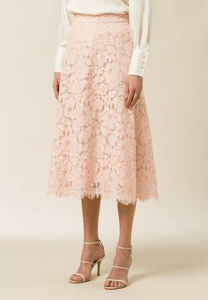 Áčková sukně - rose cloud