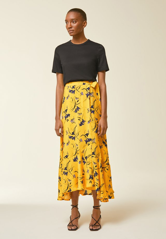 Maxi skirt - sun yellow