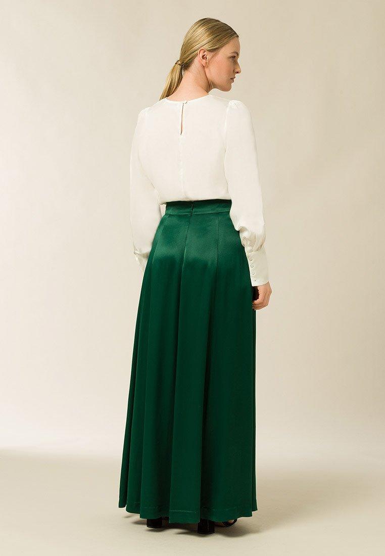 Veckad kjol eden green