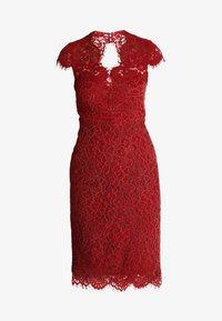 IVY & OAK - DRESS - Koktejlové šaty/ šaty na párty - rusty red - 4