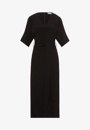 KIMONO DRESS - Vestito lungo - black