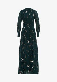 IVY & OAK - STAND-UP COLLAR DRESS - Vestito lungo - dark green - 2