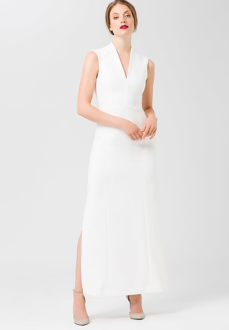 IVY & OAK - HIGH COLLAR - Occasion wear - snow white
