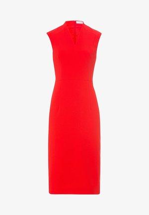 HIGH COLLAR - Robe de soirée - fire red