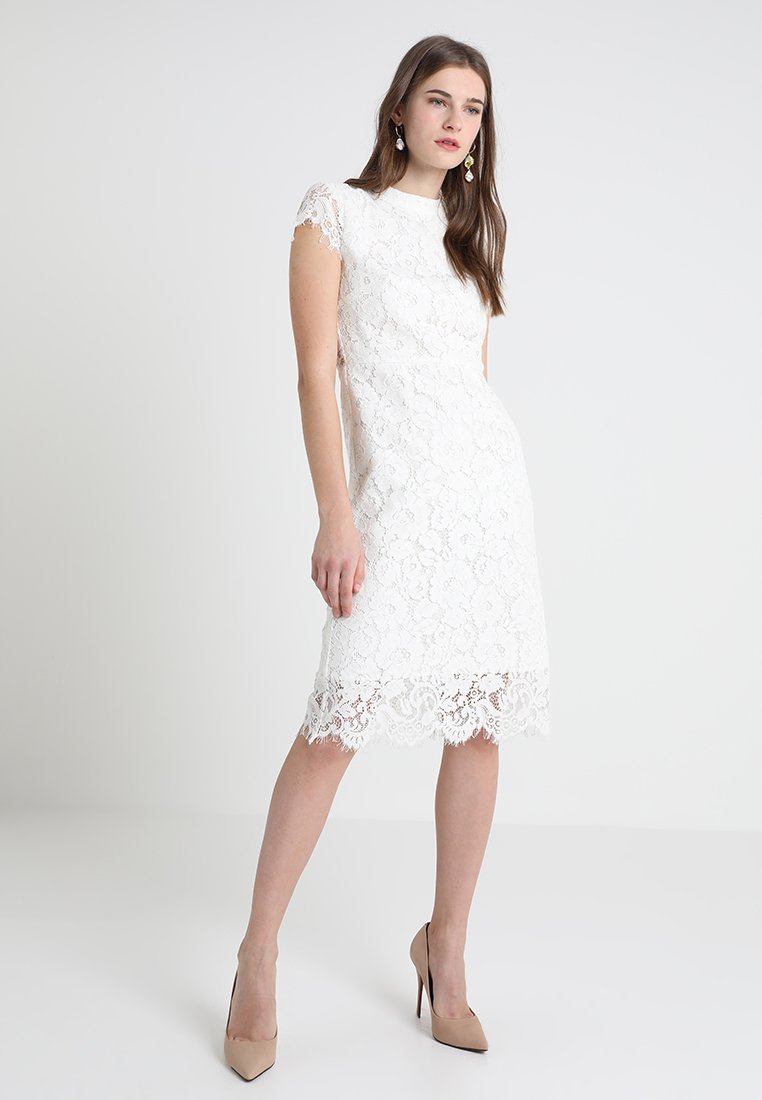IVY & OAK - DRESS - Vestido de cóctel - snow white