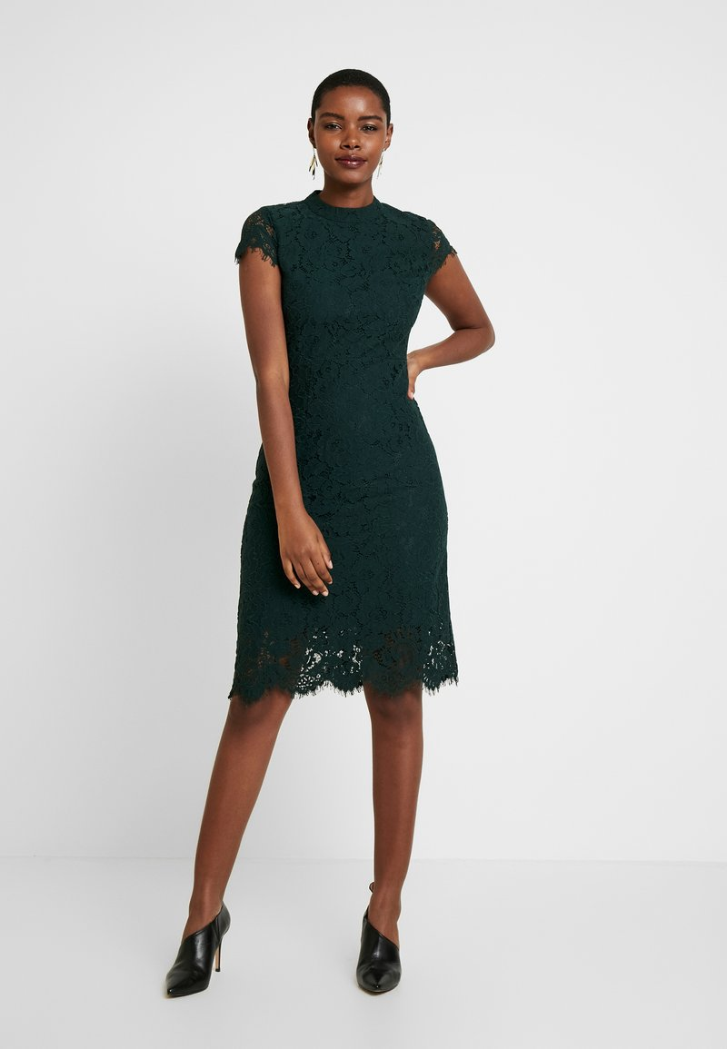 IVY & OAK - DRESS - Juhlamekko - bottle green