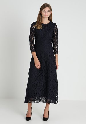 GRAPHIC DRESS - Vestido de fiesta - navy blue