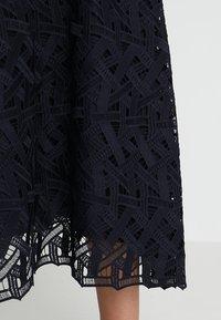 IVY & OAK - GRAPHIC DRESS - Occasion wear - navy blue - 6