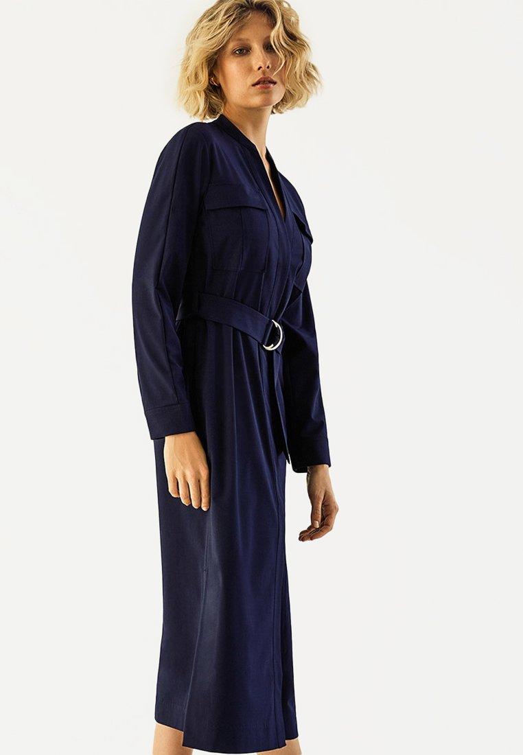 IVY & OAK - Vestito lungo - blue