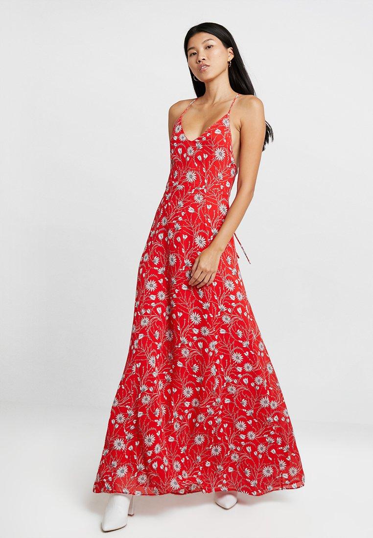 IVY & OAK - SPAGHETTI DRESS LONG - Maxikleid - lovers red