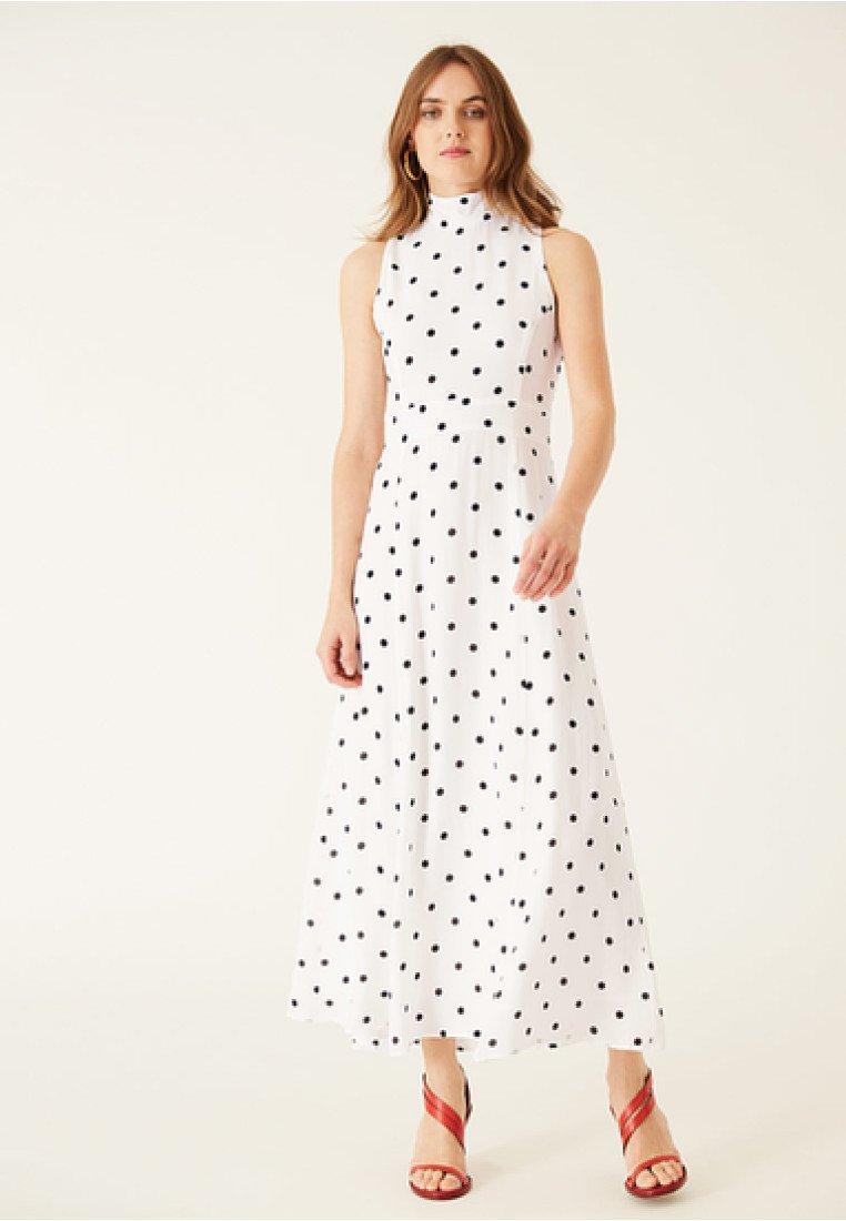 IVY & OAK - AMERICAN SHOULDER DRESS - Robe longue - white