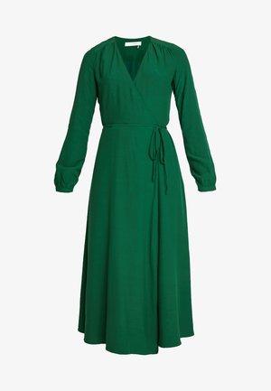 WRAP DRESS - Robe longue - eden green