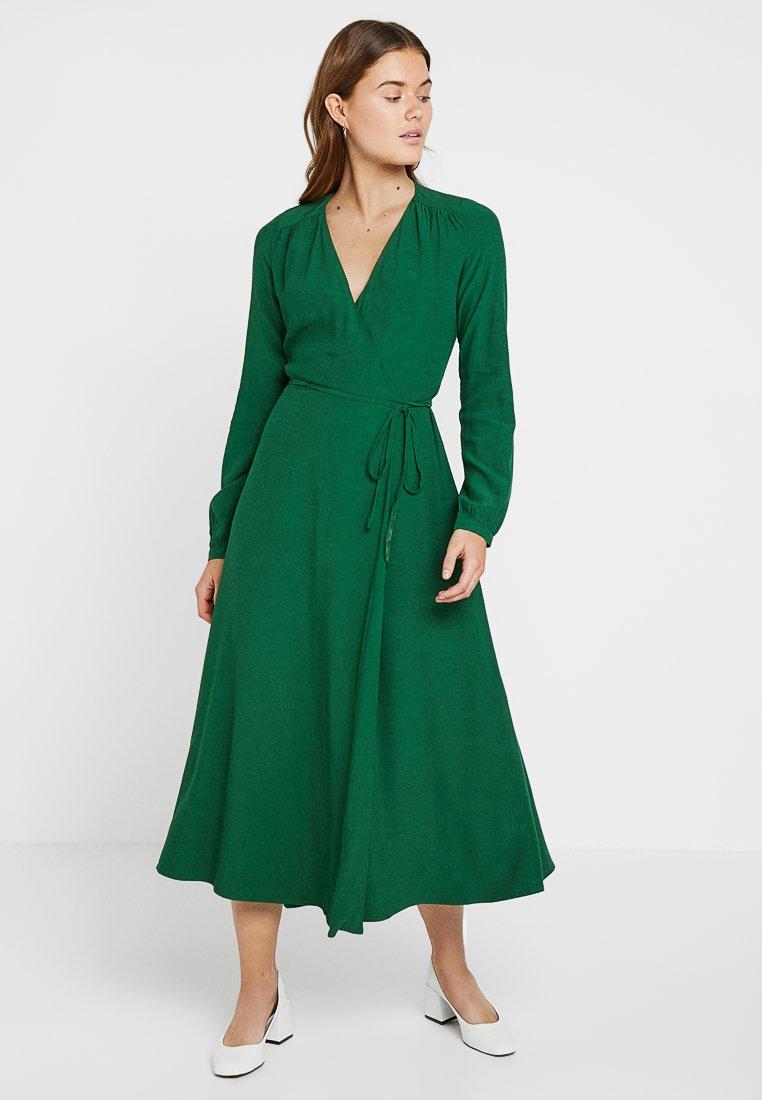 IVY & OAK - WRAP DRESS - Robe longue - eden green