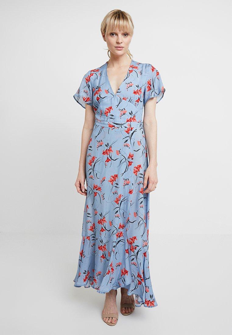 IVY & OAK - ANCLE LENGTH VALANCE DRESS - Vestido largo - horizon blue