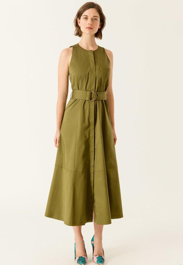 IVY & OAK - Maxi dress - moos green