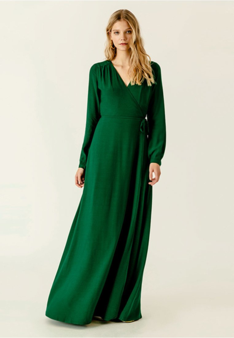 IVY & OAK - Maxi dress − green
