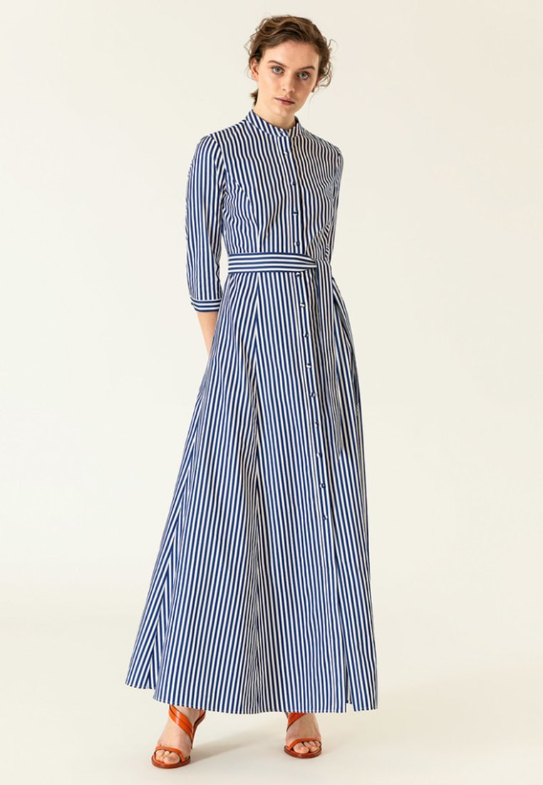 Longue Ivyamp; Blue Ivyamp; Ivyamp; Robe Oak Robe Oak Oak Longue Robe Blue N08mwn