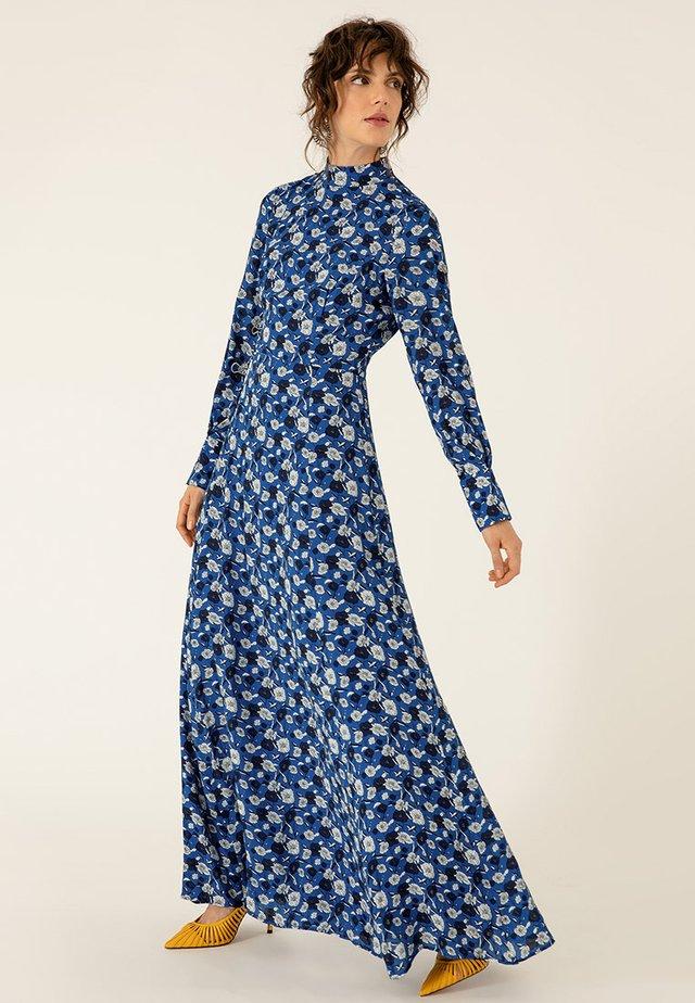 Vestito lungo - brilliant blue