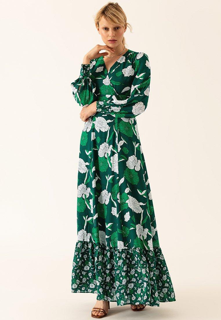 IVY & OAK - BOHEMIAN  - Vestido largo - evergreen