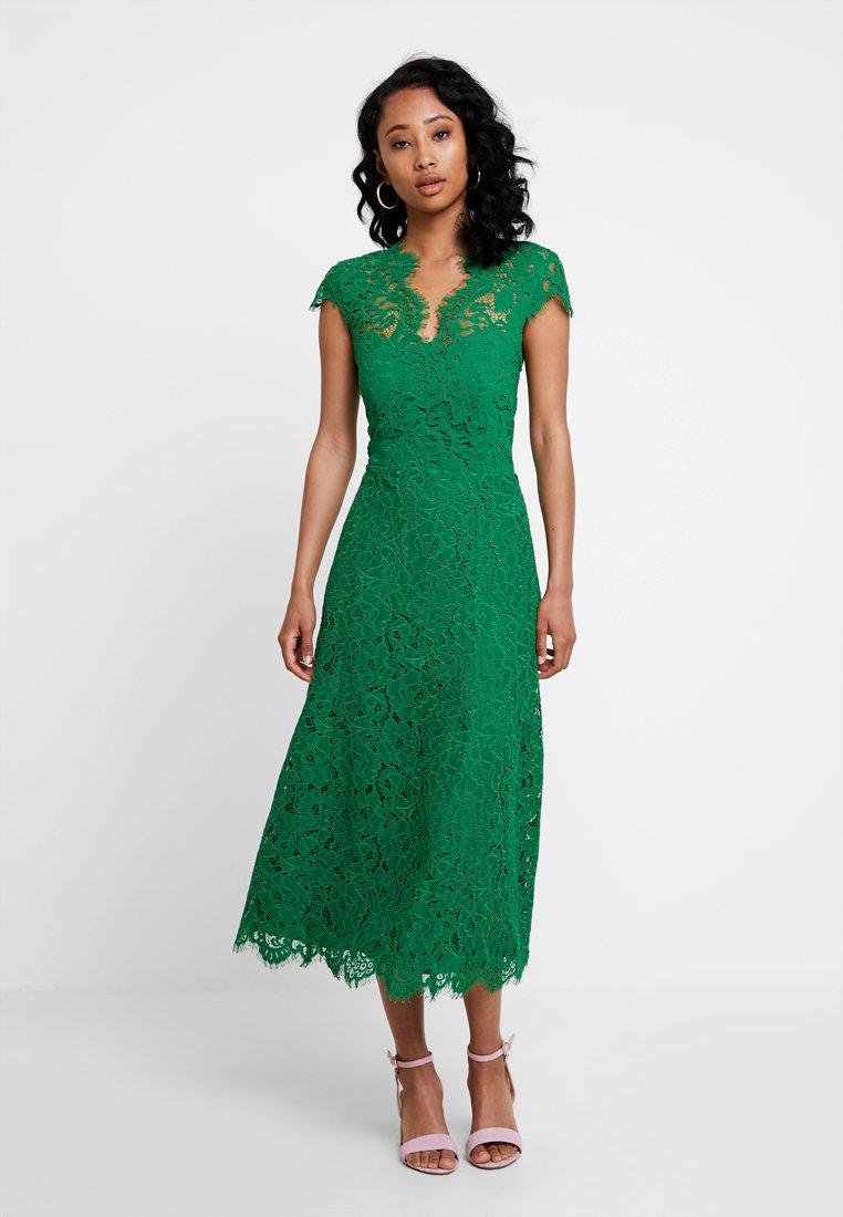 IVY & OAK - FLARED DRESS CAP SLEEVE - Ballkleid - secret garden green