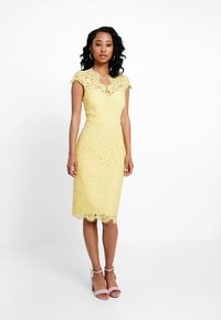 IVY & OAK - DRESS - Koktejlové šaty/ šaty na párty - sunshine yellow - 0