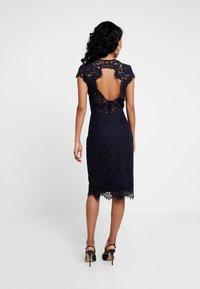IVY & OAK - DRESS - Koktejlové šaty/ šaty na párty - navy blue - 2