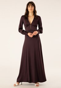 IVY & OAK - DRESS LONG SLEEVE - Iltapuku - rouge noir - 0