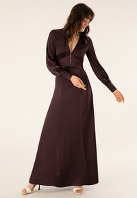 IVY & OAK - DRESS LONG SLEEVE - Iltapuku - rouge noir - 3