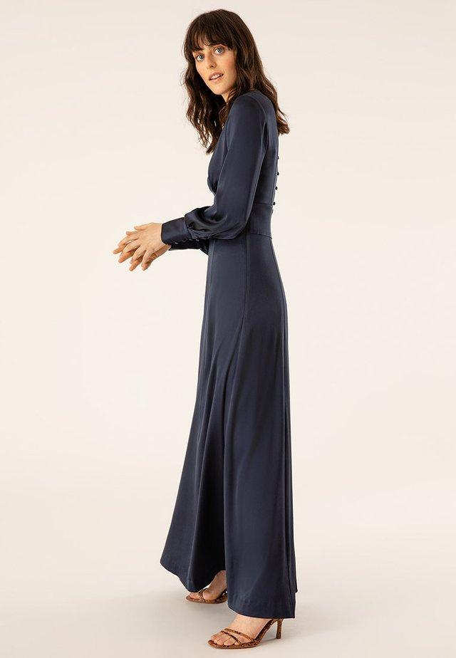 DRESS LONG SLEEVE - Festklänning - dark blue