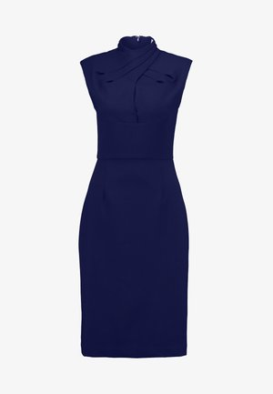 DRAPE SHIFT DRESS - Etui-jurk - winter true blue