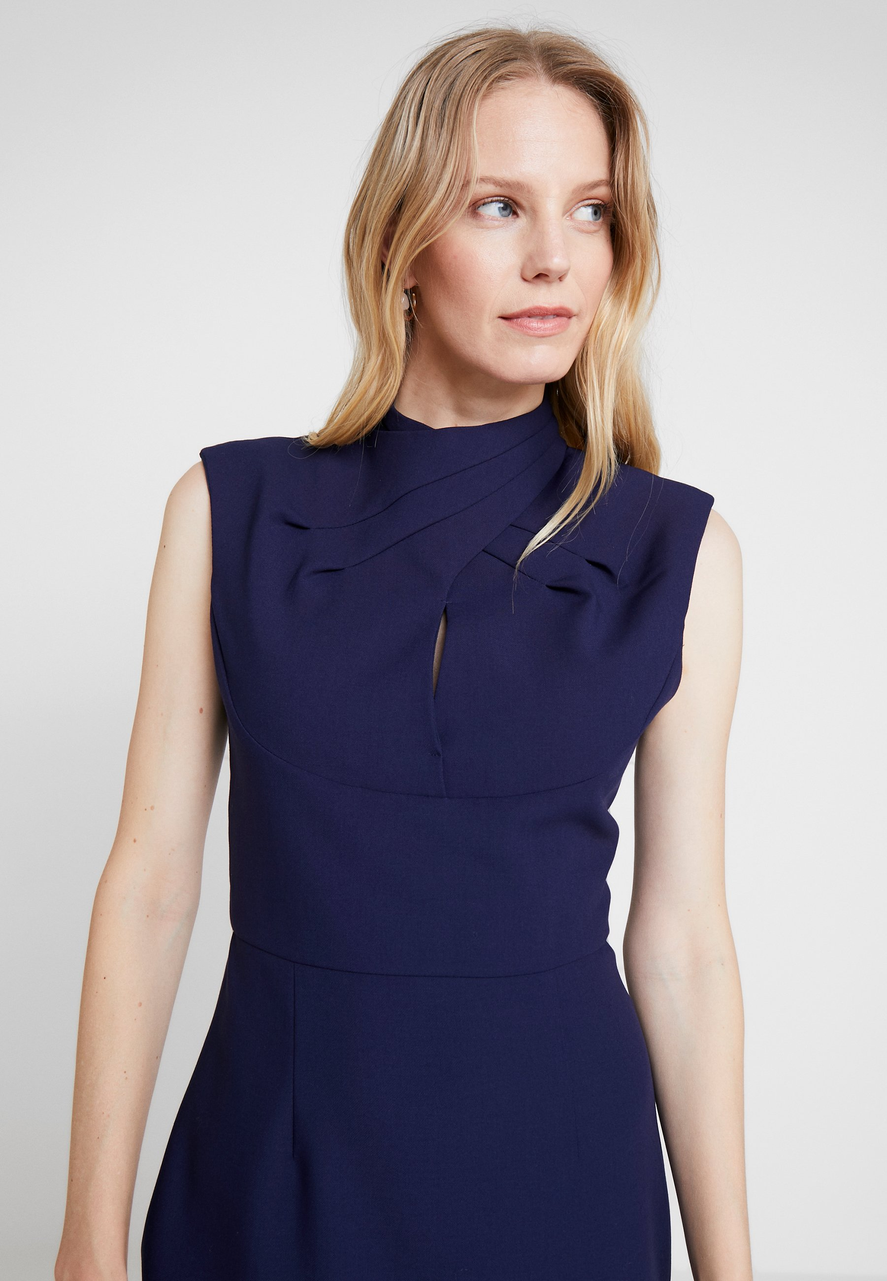 Arizona drape dress Blue | Pure Female