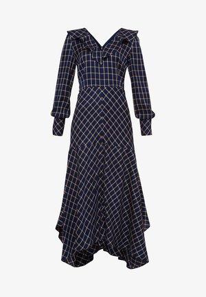 VOLANTS - Długa sukienka - dark blue