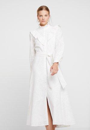 VALANCE - Shirt dress - snow white