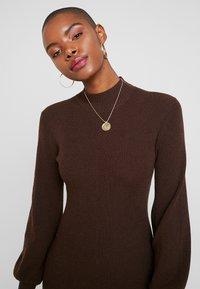 IVY & OAK - LENGTH DRESS - Jumper dress - dark chocolate - 4