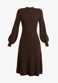 IVY & OAK - LENGTH DRESS - Jumper dress - dark chocolate - 5