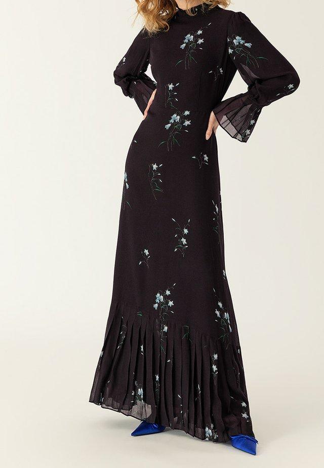 PLISSÉ - Maxiklänning - black