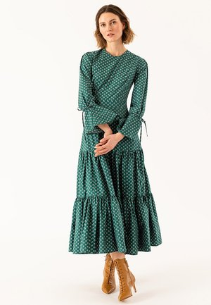 LIBERTY LONDON RUFFLE - Vestido largo - green
