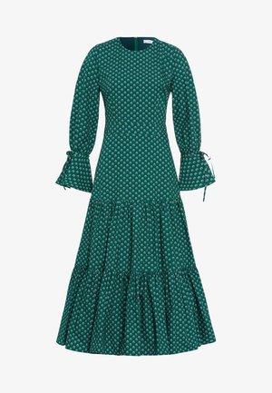 LIBERTY LONDON RUFFLE - Vestito lungo - green