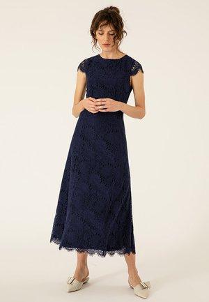 Vestido largo - true blue