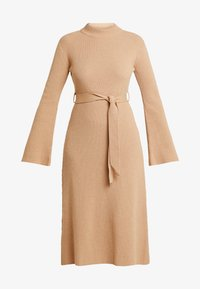 IVY & OAK - MIDI DRESS - Robe pull - winter camel - 4