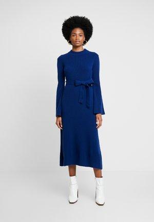 MIDI DRESS - Jumper dress - blue iris
