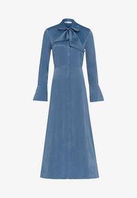 IVY & OAK - MIT BINDESCHLEIFE - Robe longue - blue - 7